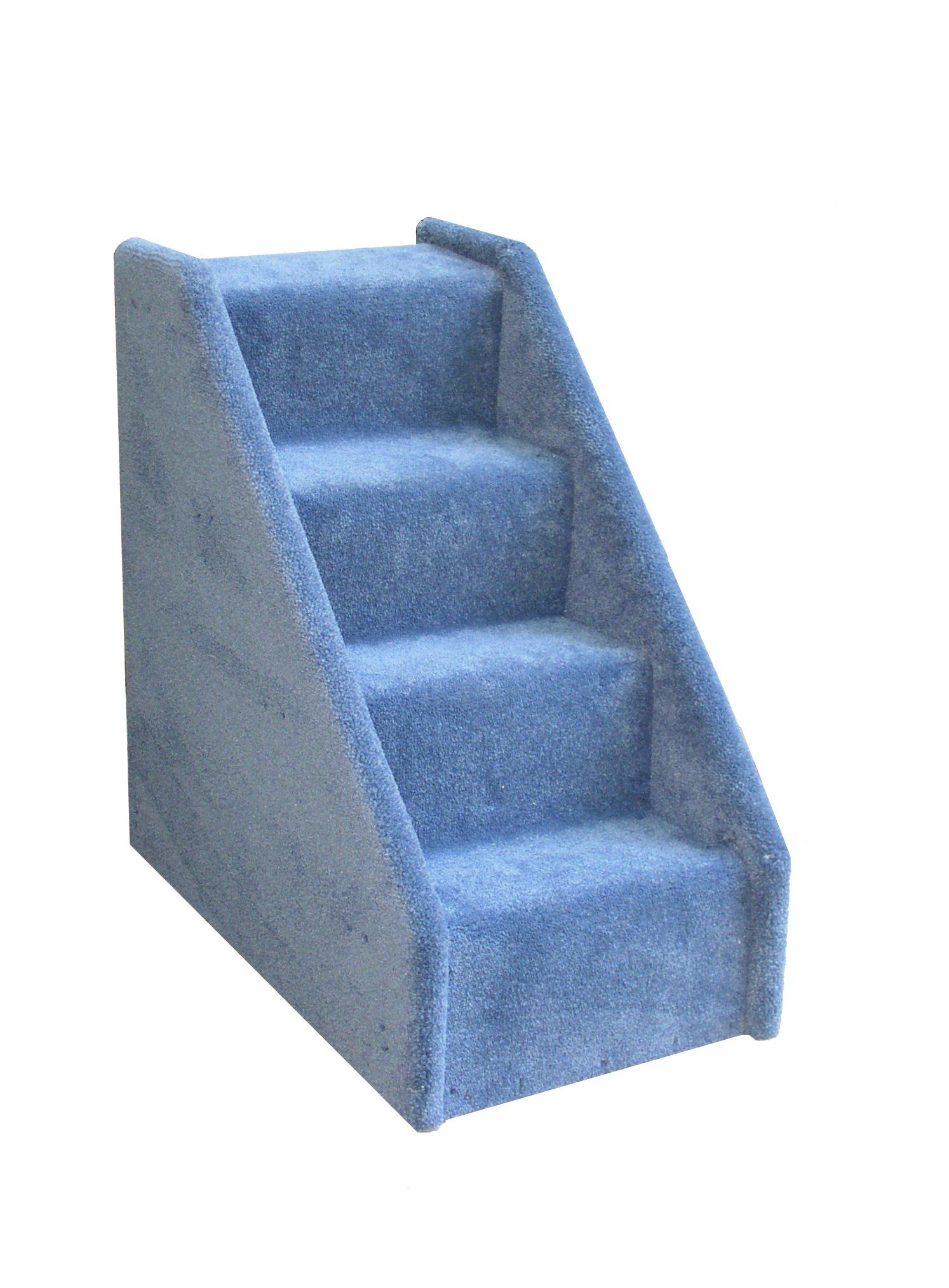 4 Step Mini Stairs   Blue